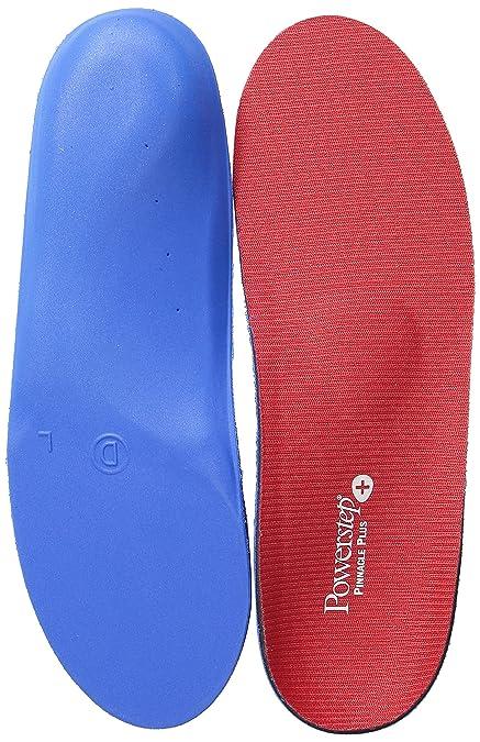 41540af2b7 Powerstep Pinnacle Plus Met Insoles Sandal, Red/Blue, Men's 4-4.5 ...