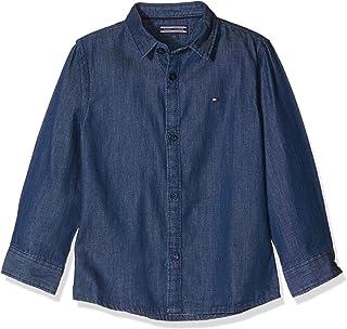 Tommy Hilfiger Jungen Hemd H Denim Shirt L/S KB0KB03654