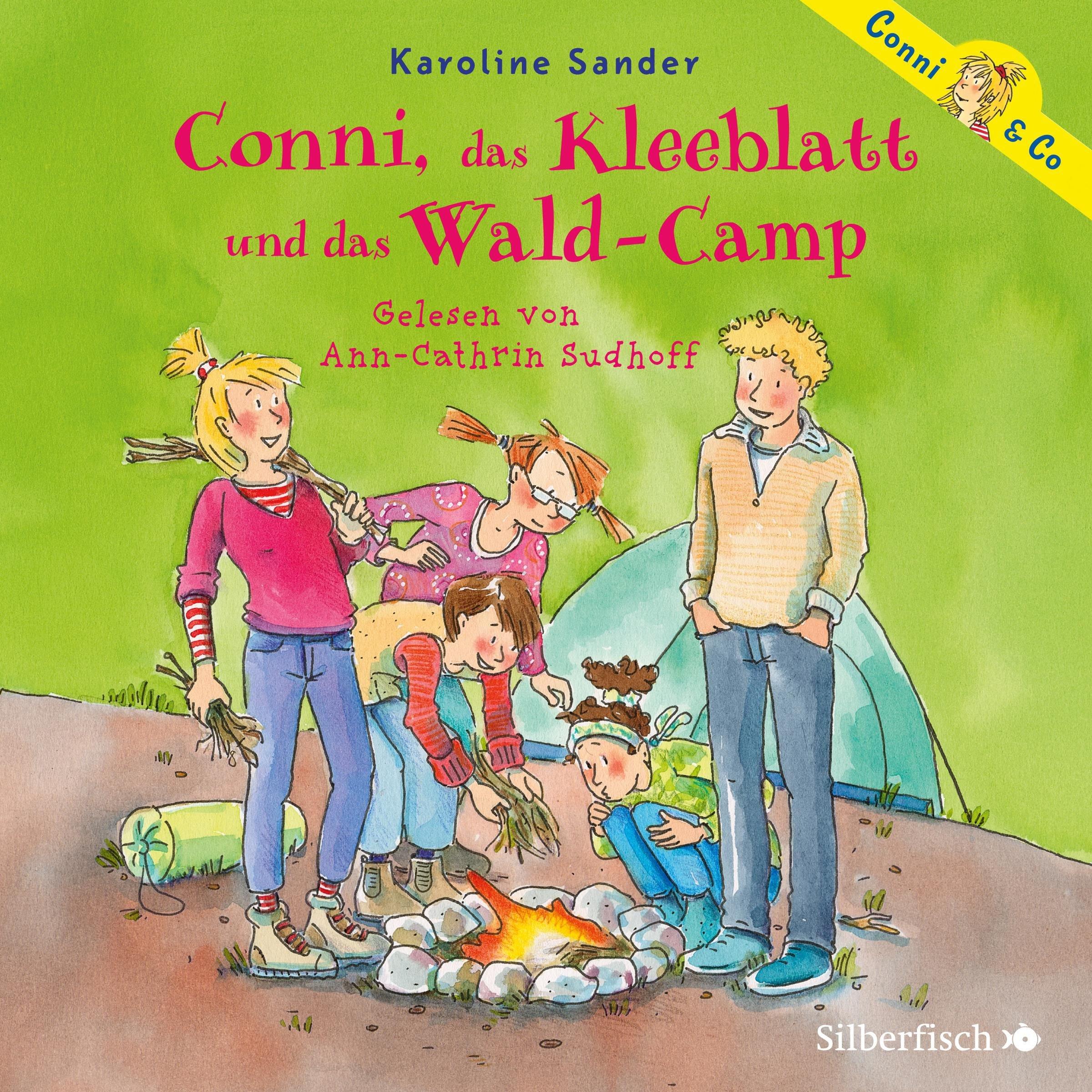 Conni, das Kleeblatt und das Wald-Camp: 2 CDs (Conni & Co, Band 14)