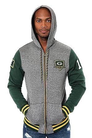 Green Bay Packers NFL Hooded Hoodie Pullover Sweatshirt Jacket Mens XL X-Large
