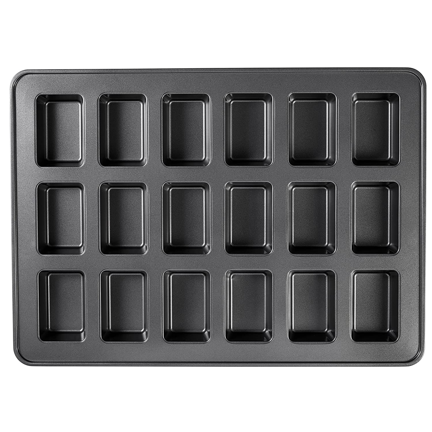 Wilton Perfect Results Non-Stick Mega Mini Loaf Pan; 18-Cavity 2105-0108
