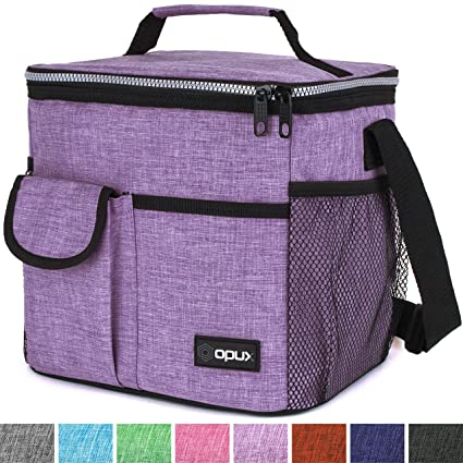 71bd145965ba Amazon.com  OPUX Premium Insulated Lunch Bag for Women