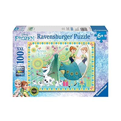 Ravensburger Frozen Fever 100 Piece Jigsaw Puzzle for Kids – Every Piece is Unique, Pieces Fit Together Perfectly, XX-Large: Toys & Games