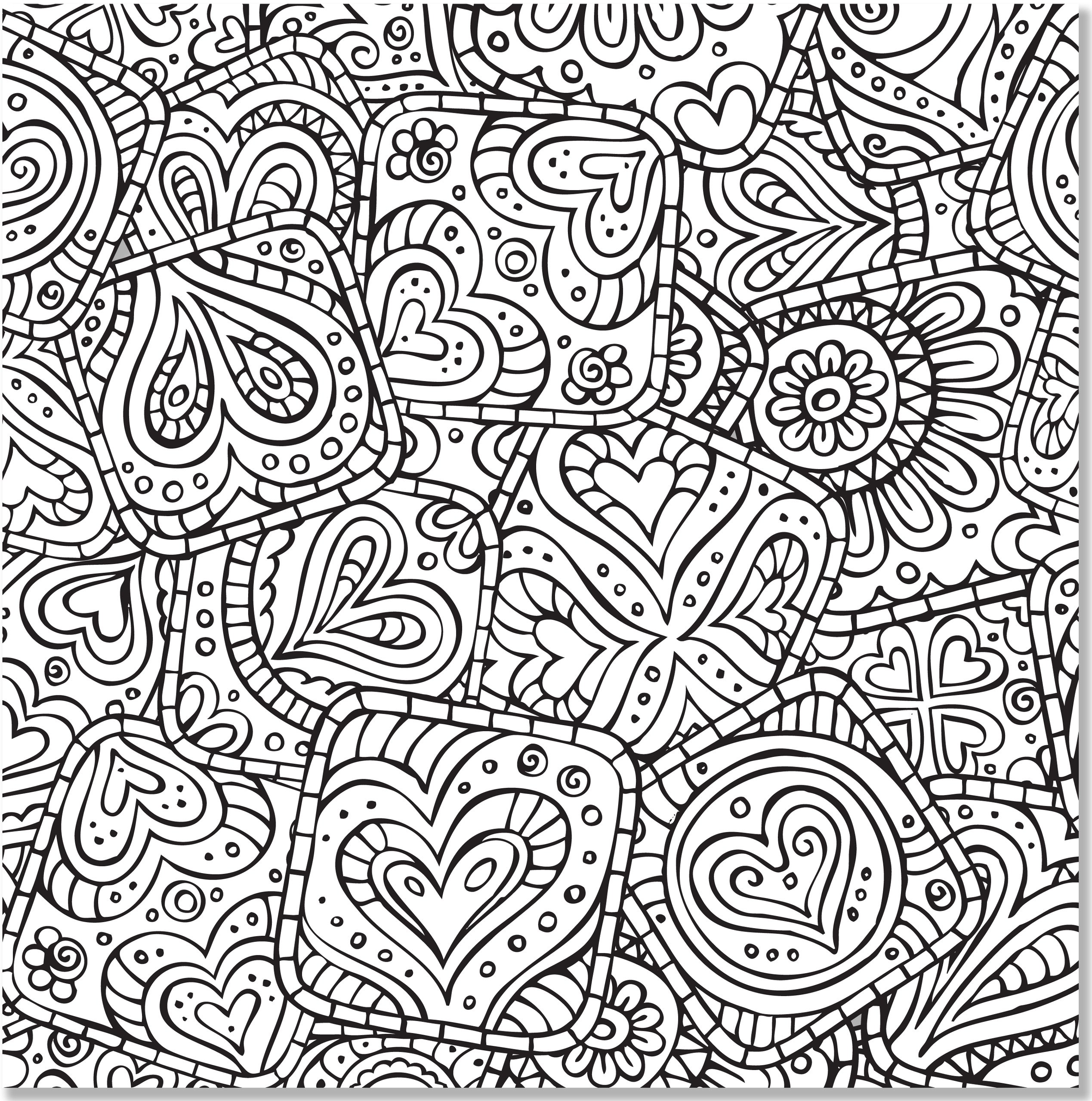 Amazon Doodle Designs Adult Coloring Book stress