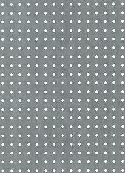 B /& T m/étal aluminium T/ôle Perfor/ée 1/Mm D/épaisseur rundlochung /Ø 3/mm versetzt Fermeture /Éclair 3 5