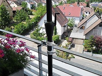 balkongelander edelstahl befestigung von unten. Black Bedroom Furniture Sets. Home Design Ideas