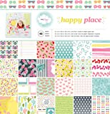 American Crafts Dear Lizzy Happy Place 12 X 12 Inch 48 Sheet Paper Pad