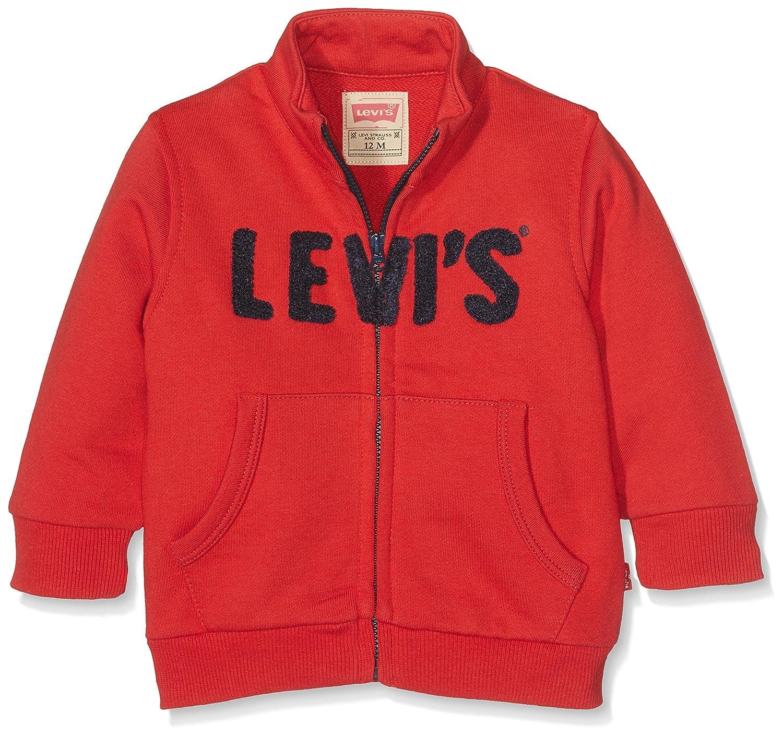 Levi's Kids Redy, Gilet Bébé Garçon Levi' s Kids Redy Gilet Bébé garçon 0-24m Rouge (Pompeian Red) (Taille Fabricant: 3 Mois)