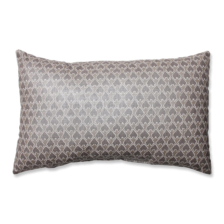 Pillow Perfect Diego Champagne Rectangular Throw Pillow