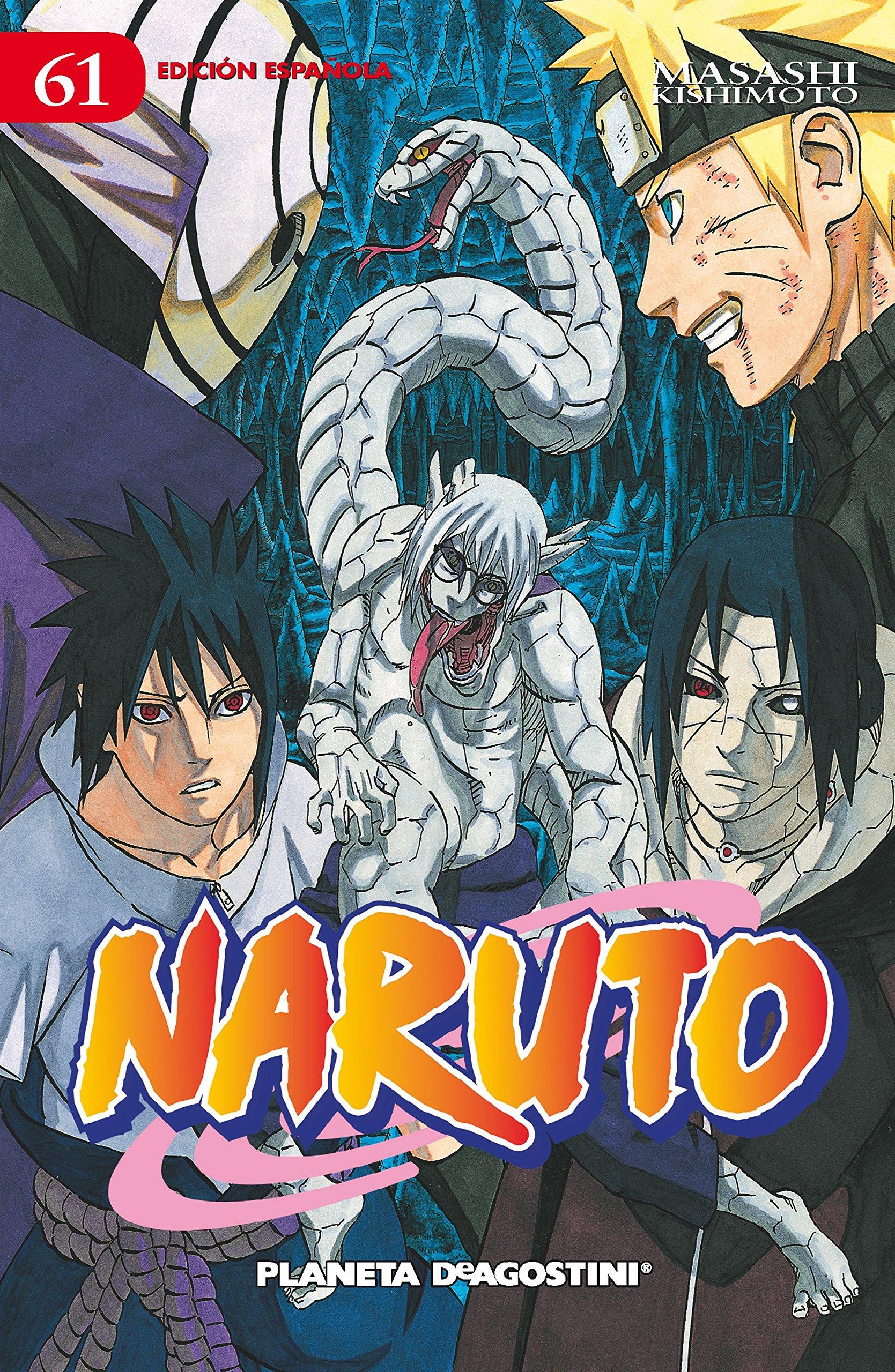 Naruto 61: Masashi Kishimoto: 9788415480600: Amazon.com: Books