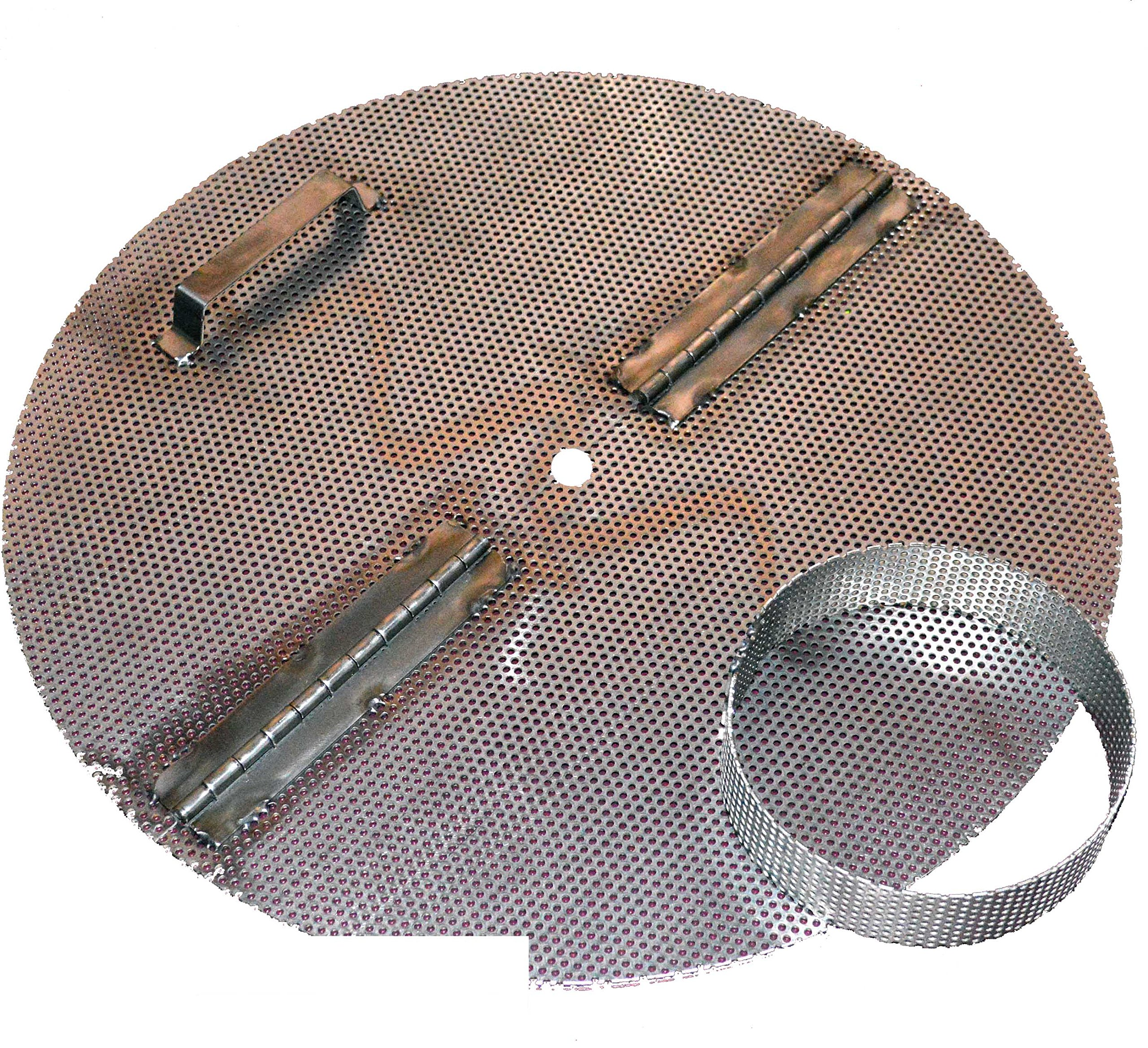 15'' Jaybird False Bottom for Keg / Keggle. Reverse Hinge, Handle, Hole, + Level 1 Filter Stand by NorCal Brewing Soutions