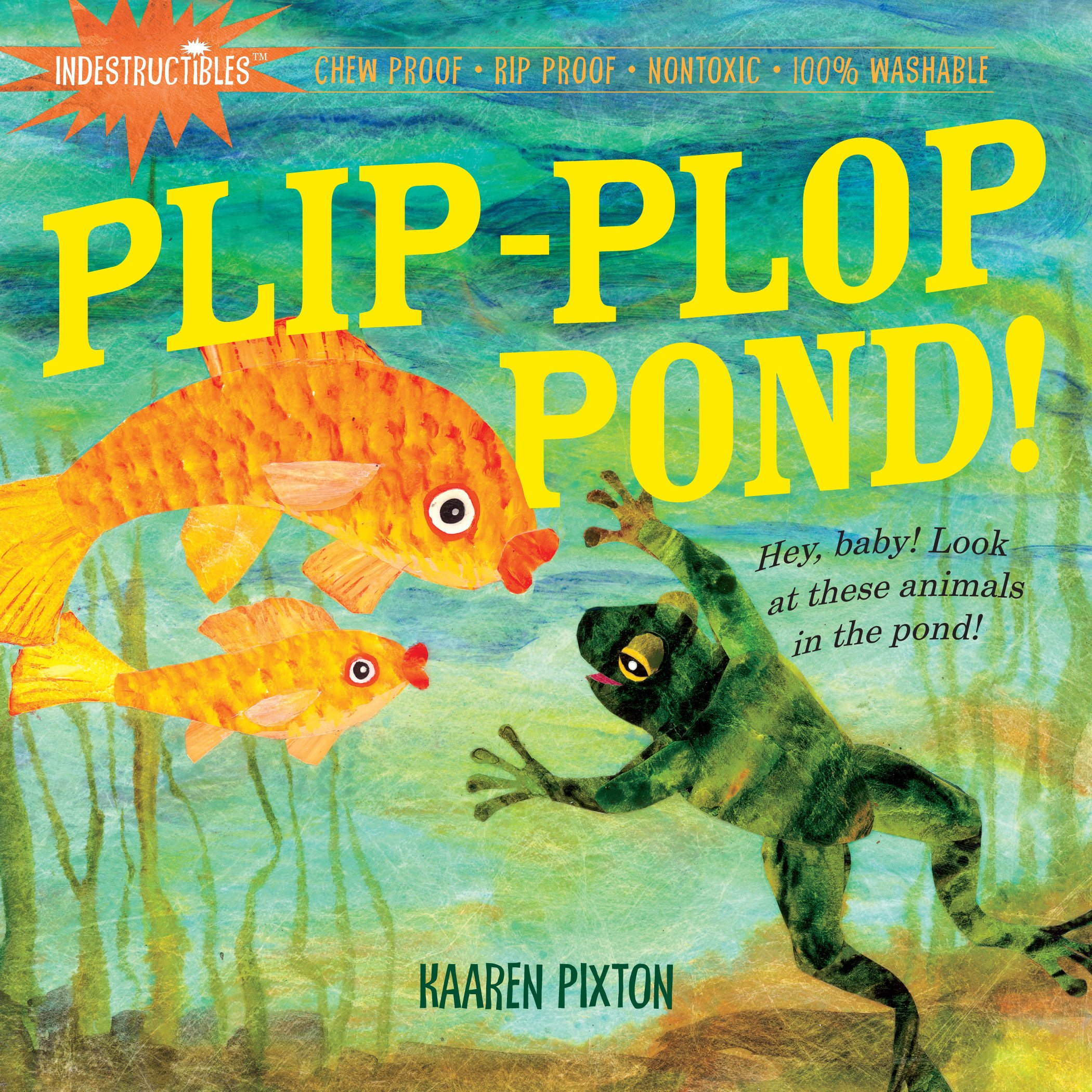 Indestructibles Plip Plop Pond Kaaren Pixton product image