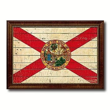 Amazon.com: Florida State Vintage Flag Collection Western ...