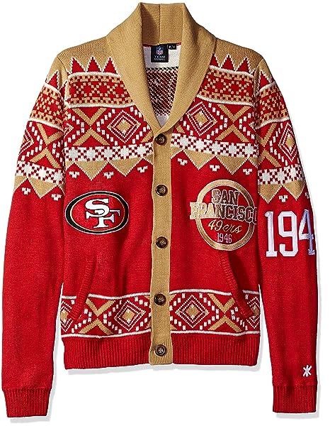 Amazon.com: De los hombres NFL 2015 Ugly chaqueta de punto ...