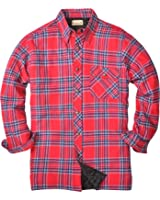 Backpacker Men's Flannel/Quilt Lined Shirt Jacket