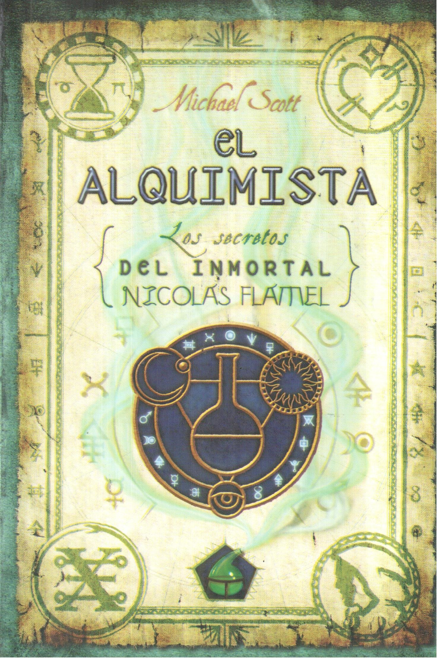Amazon.com: El alquimista (Los secretos del inmortal Nicolas Flamel) (Spanish Edition) (9788496791039): Scott, Michael: Books