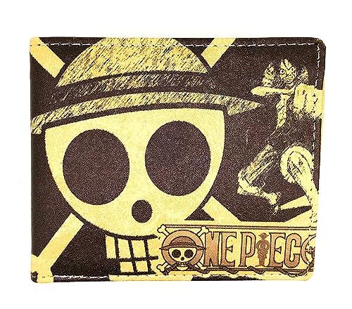 Cartera One Piece Bandera de Luffy  Amazon.es  Joyería a8cef218750