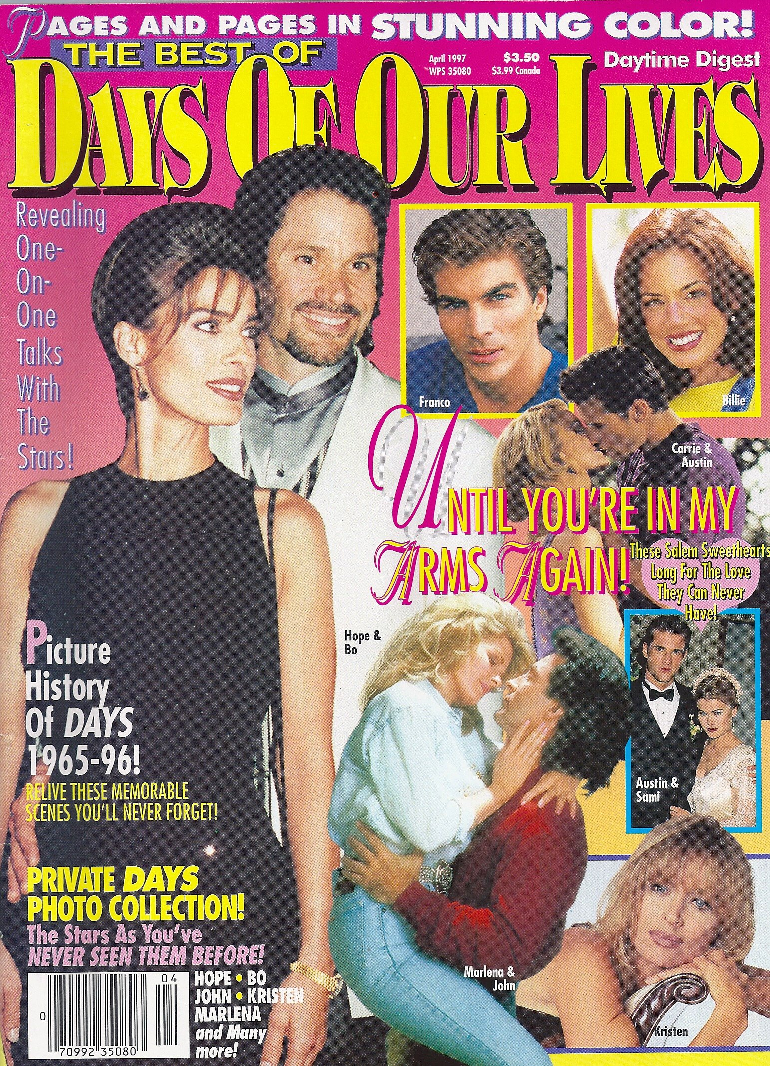 DAYTIME DIGEST PRESENTS THE BEST OF DAYS OF OUR LIVES [April, 1997, Soap Opera, Sterling/Macfadden] Single Issue Magazine – 1997