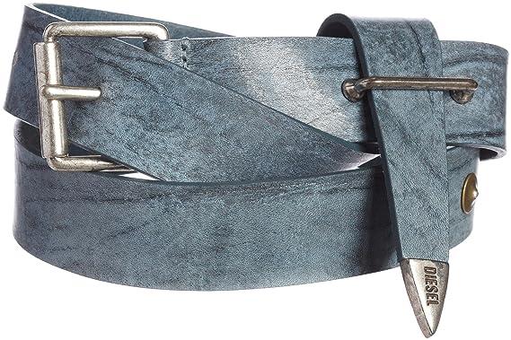 Diesel - Ceinture en cuir BARASCO - gris, 85  Amazon.fr  Vêtements et  accessoires af14305e056