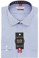 Van heusen men 39 s flex collar regular fit textured stripe for Van heusen men s regular fit pincord dress shirt