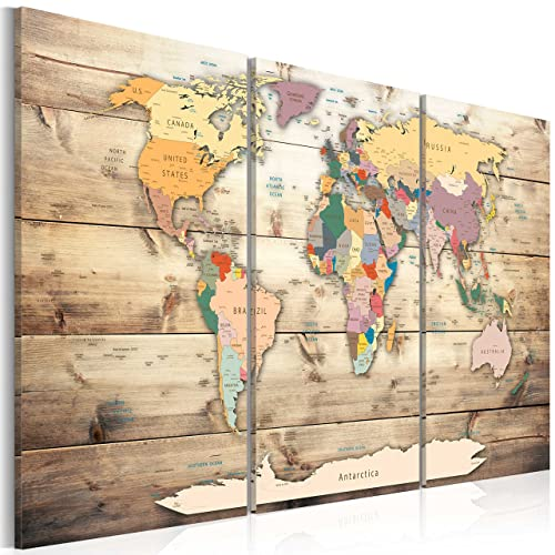 World map wall art amazon murando image 120x80 cm 472 by 315 in publicscrutiny Choice Image