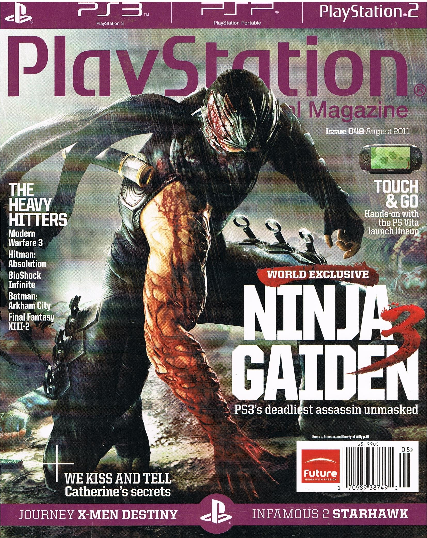 Playstation Magazine August 2011: Various: Amazon.com: Books