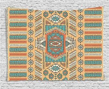 Amazon Com Ambesonne Tribal Tapestry Ethnic Aztec Secret Tribe