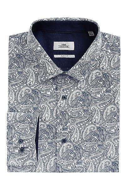 next Hombre Conjunto De Corbata Y Camisa Entallada con Estampado ...