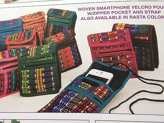 Amazon.com: Teléfono iPhone Pouch algodón Comercio Justo 3.5 ...