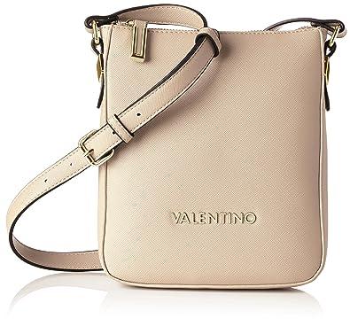 Valentino by Mario Valentino VBS1NK07, Sac Bandoulière FemmeBeigeBeige (Nudo D83), 4x21x19 cm (B x H x T)