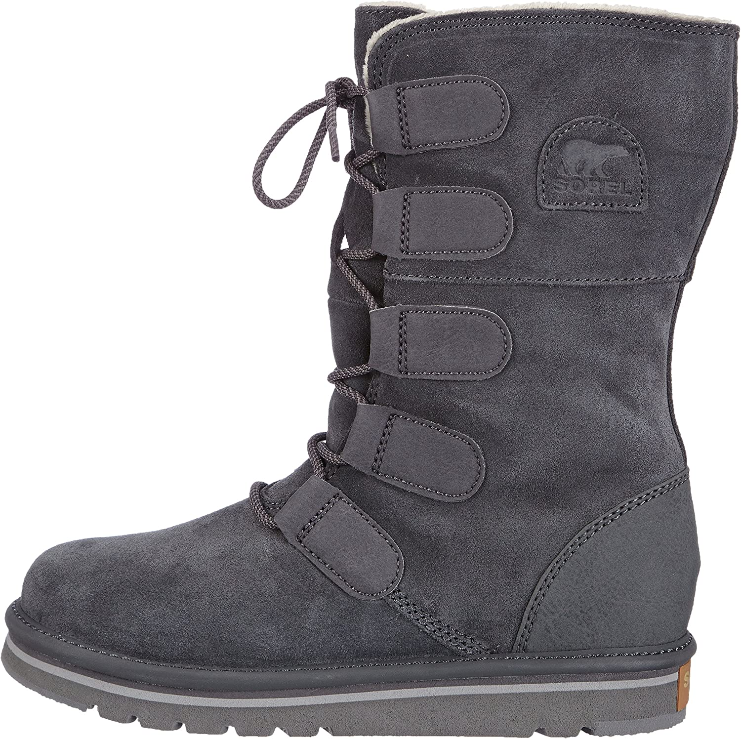 innovative design on feet images of uk availability Sorel The Campus Lace Boot Shoe - Grill - Womens - 7.5: Amazon.ca ...