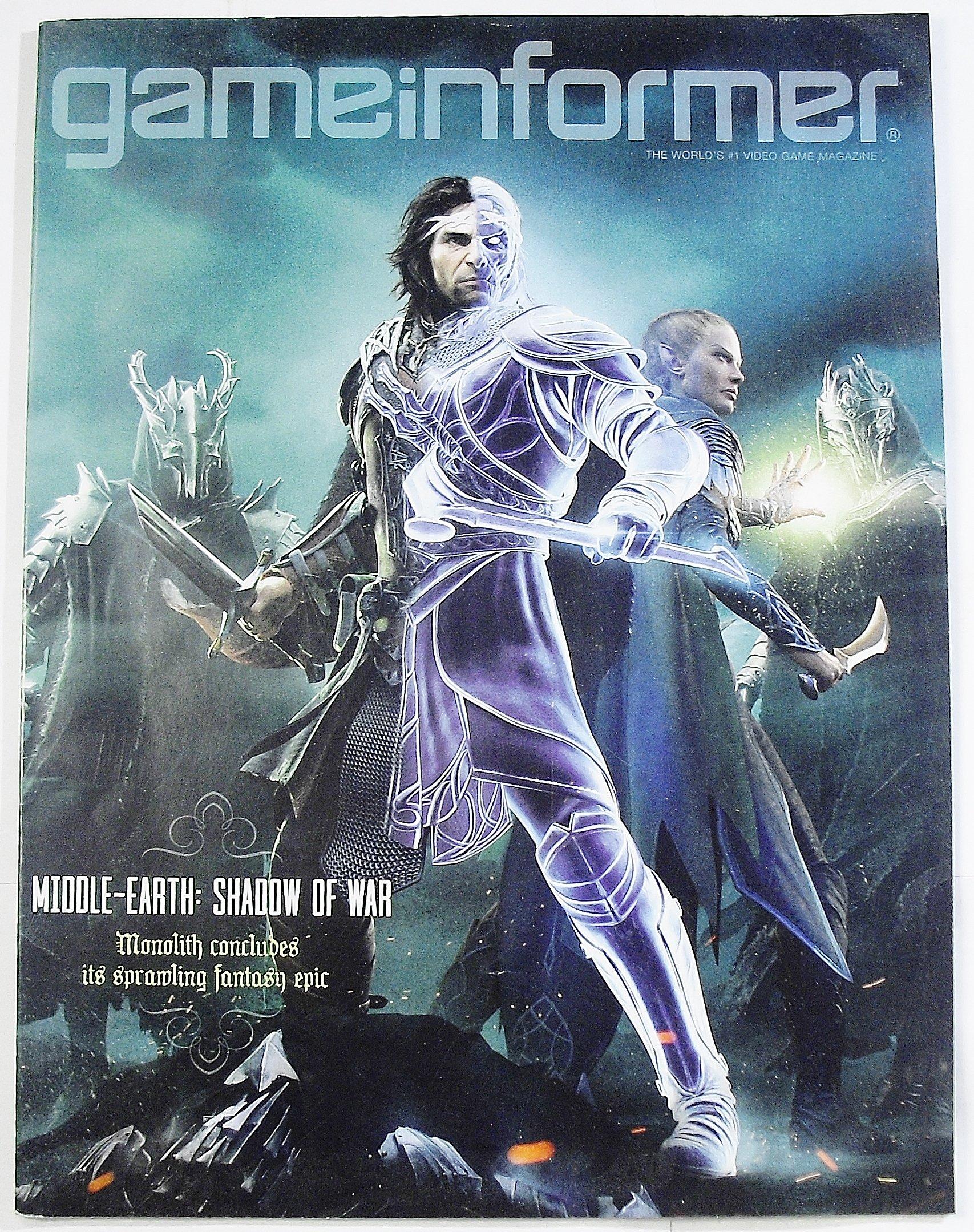 Game Informer Magazine October 2017 Issue 294 Andy Mcnamara