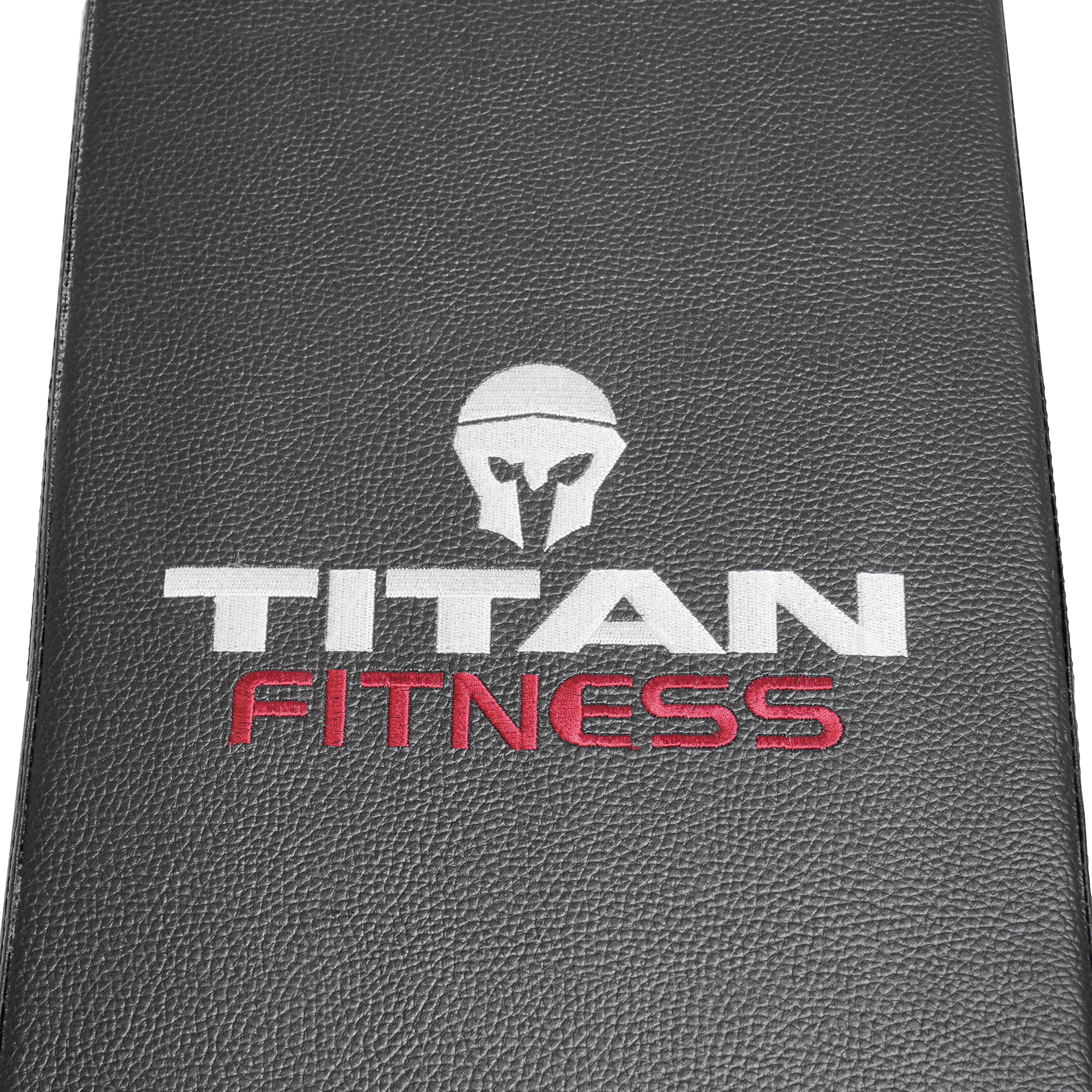 Titan Fitness Flat Weight Bench 1,000 lb Rated Capacity w/ Handle & Wheels by Titan Fitness (Image #6)
