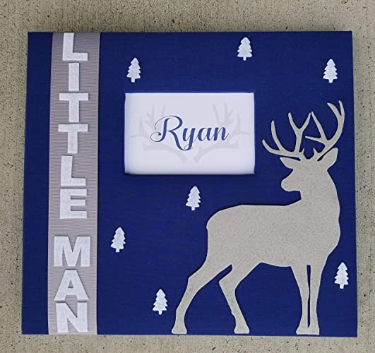 Amazon Custom Deer 12x12 Scrapbook Album Choice Of Colors
