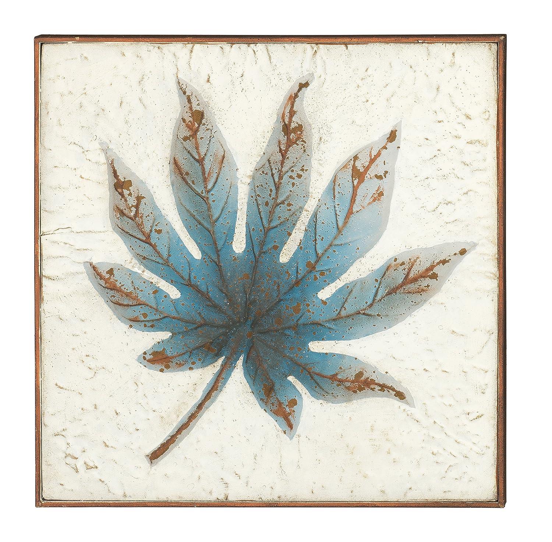 Metal WallArt Regal Art /& Gift 11765 Blue Maple Wall Decor 16 in