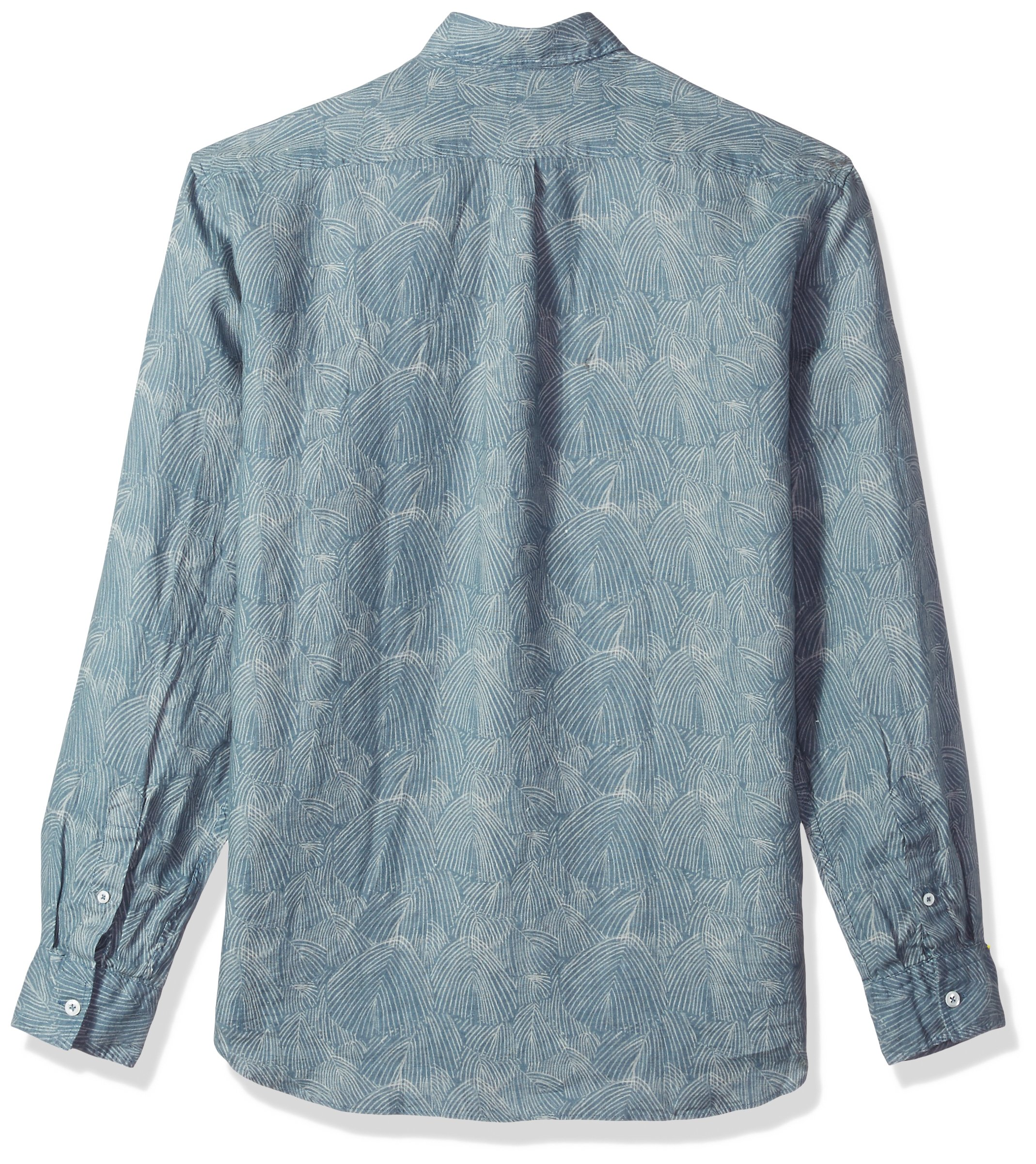 Billy Reid Men's Standard Fit Button Down Tuscumbia Shirt, Teal Willow M by Billy Reid (Image #2)