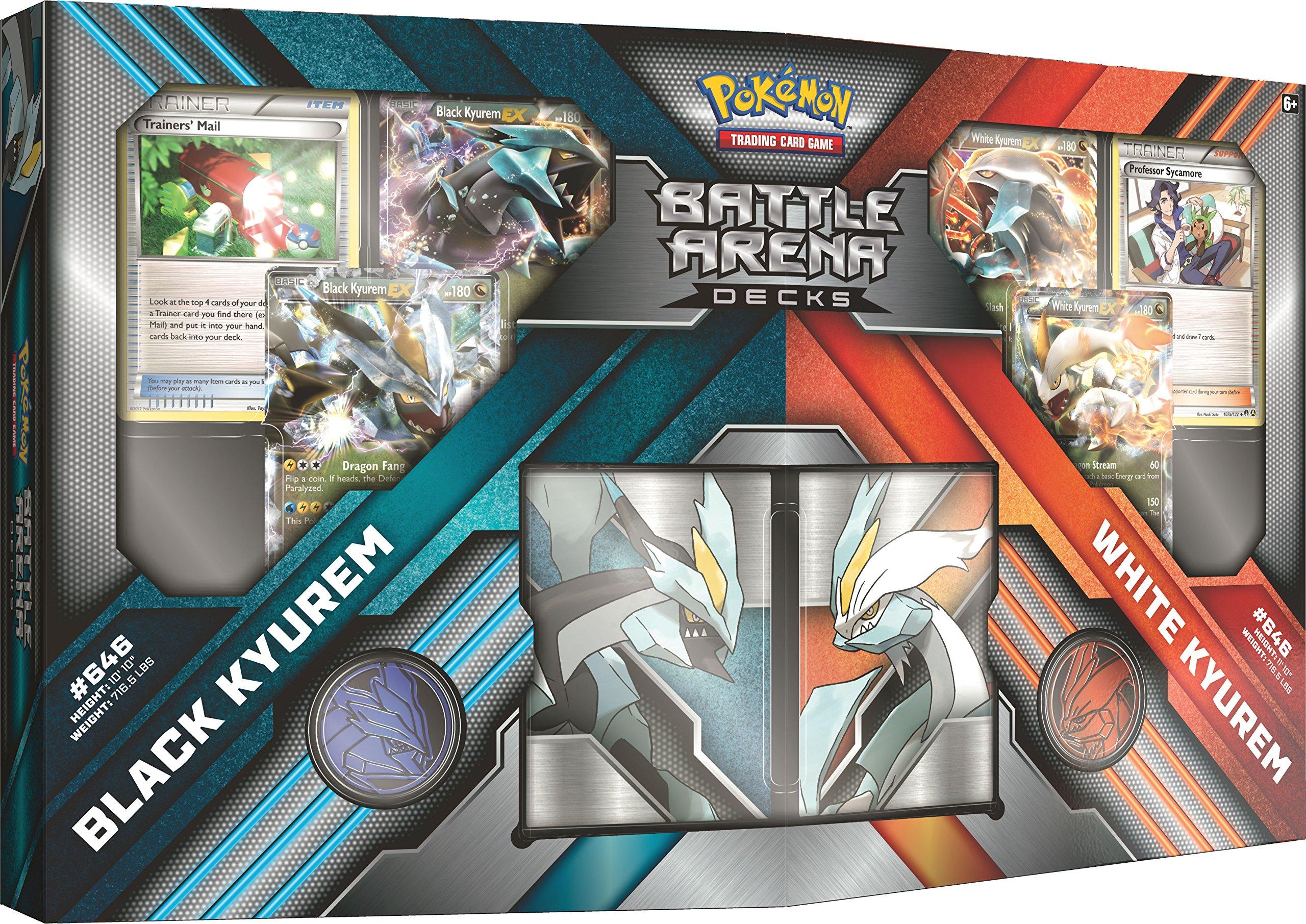Pokemon TCG Battle Arena Decks Black Kyuremvs. White Kyurem Card Game