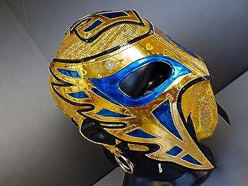 Faraón disfraz de máscara de luchador de lucha libre Luchador lucha libre mexicana máscara
