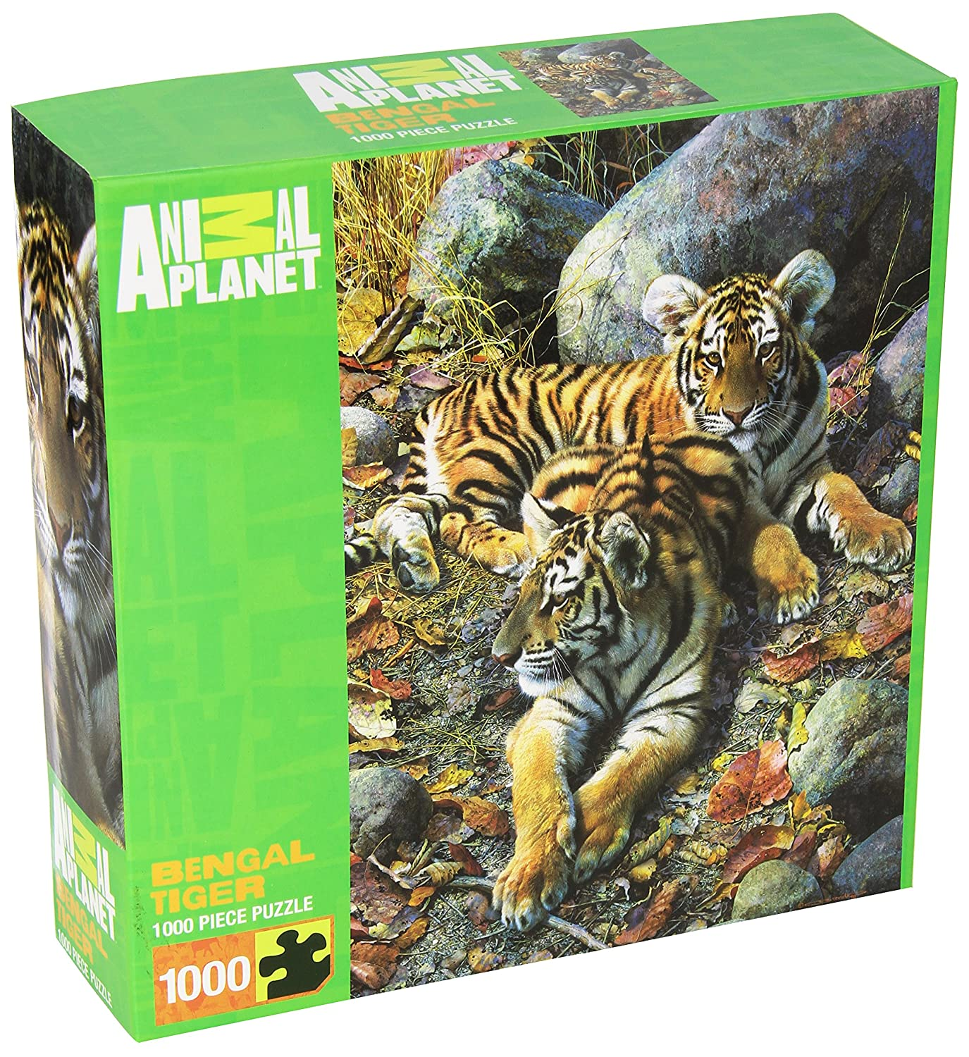 Standard Packaging MasterPieces Animal Planet Bengal Tiger Jigsaw Puzzle, 1000Piece