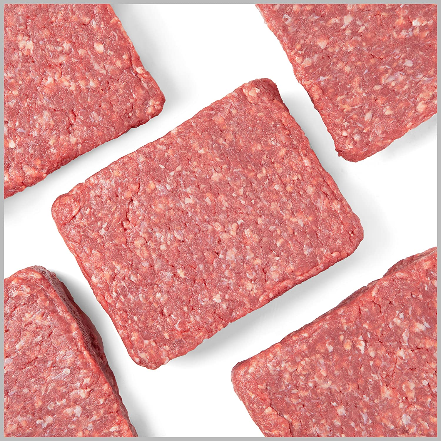 Pre, 16 (1LB) 85% Lean Ground Beef Bricks – 100% Grass-Fed, Grass-Finished and Pasture-Raised Beef