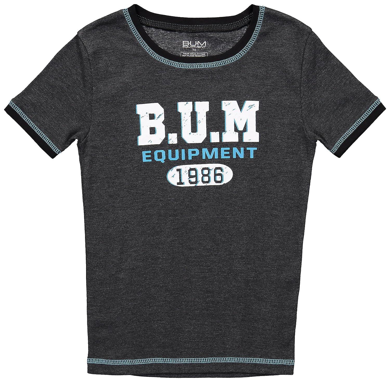 B.U.M Equipment Boys Short Sleeve Pajama Shirt /& Pants Cotton Sleepwear 2PC Set