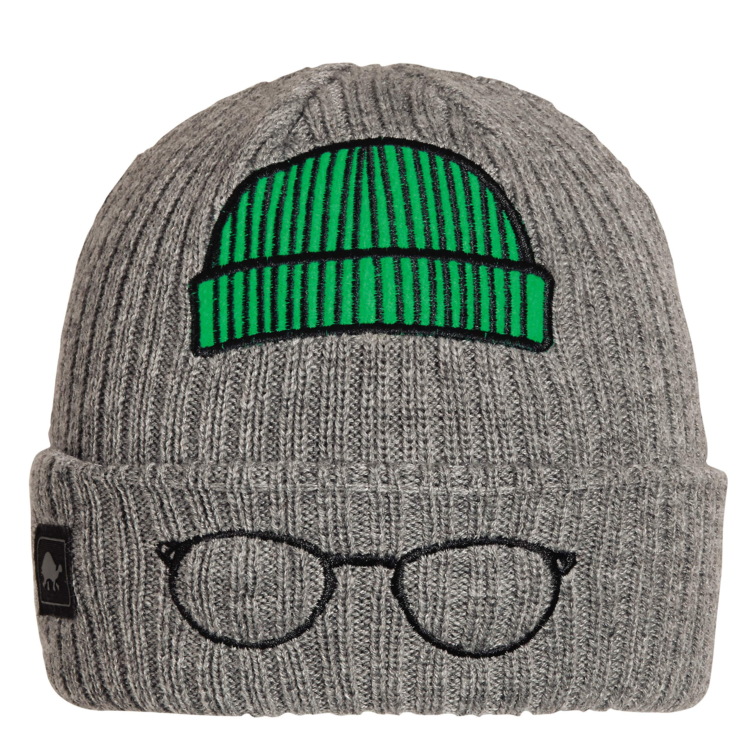Turtle Fur Kids Lil' Hipster Cuffed Beanie Charcoal