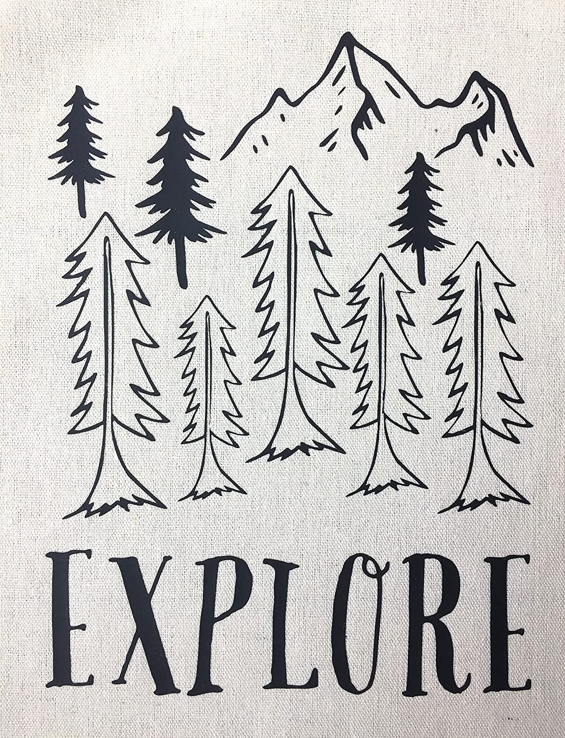 Explore Wall Hanging Banner 8x11