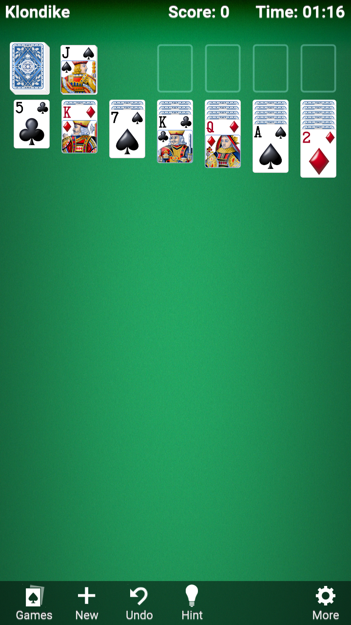Amazon Com Klondike Solitaire Appstore For Android