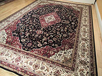 luxury silk navy area rugs 5x7 rug for living room under 50 rug for bedrooms 5x8 - 5x7 Rugs
