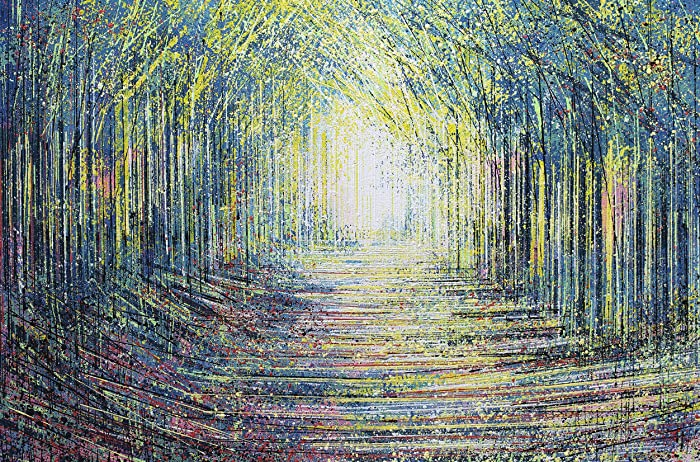 If Light At End Of Tunnel Is Green You >> Amazon Com Tree Tunnel In Evening Light Marc Todd Fine Art