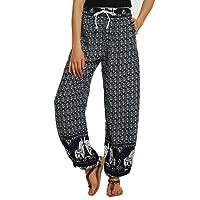 Urban GoCo Women Boho Harem Pants Hippie Trousers