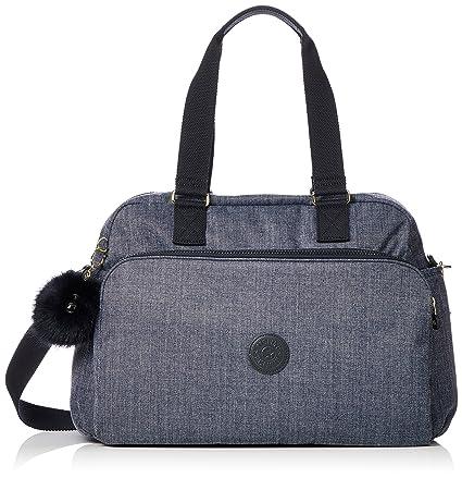 Kipling July Bag Bolsa de Viaje, 45 cm, 21 litros, Cotton Jeans