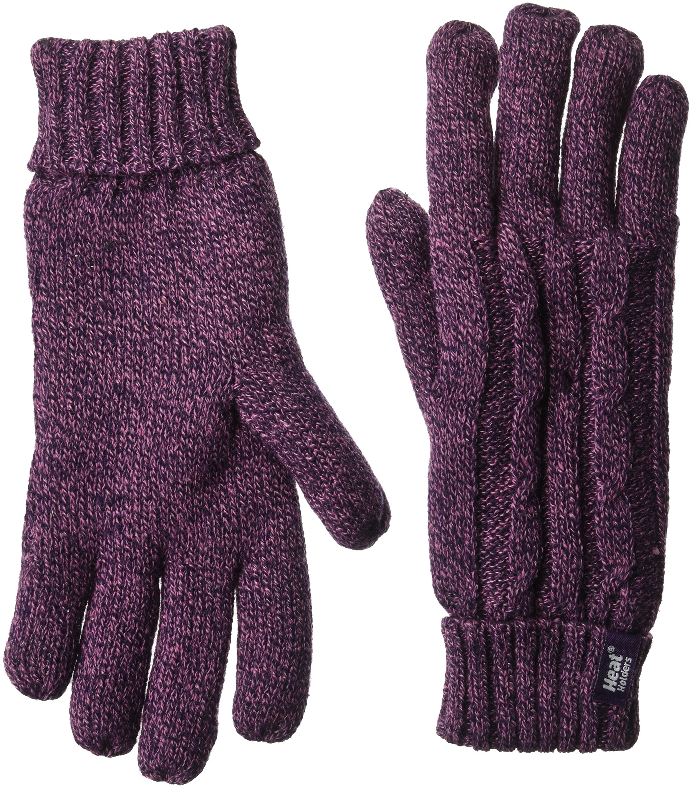 Heat Holders Women's Gloves, Purple, Small/Medium