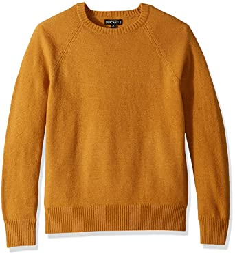89834c0009e178 J.Crew Mercantile Men s Lambswool-Nylon Crewneck Sweater at Amazon ...